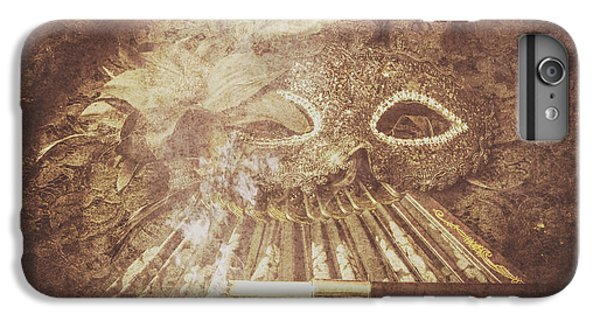 IPhone 6 Plus Case featuring the photograph Mysterious Vintage Masquerade by Jorgo Photography - Wall Art Gallery