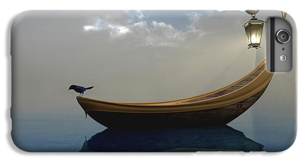 Boat iPhone 6 Plus Case - Narcissism by Cynthia Decker