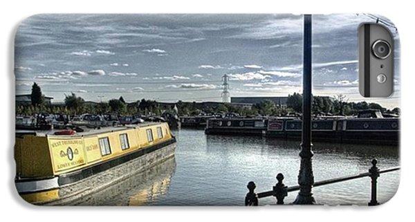 Narrowboat Idly Dan At Barton Marina On IPhone 6 Plus Case