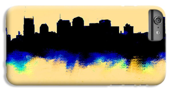Nashville  Skyline  IPhone 6 Plus Case by Enki Art