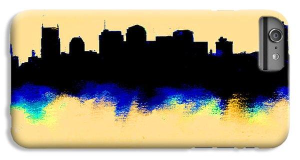 Nashville  Skyline  IPhone 6 Plus Case by Enki Art