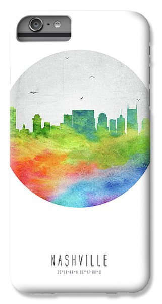 Nashville Skyline Ustnna20 IPhone 6 Plus Case by Aged Pixel