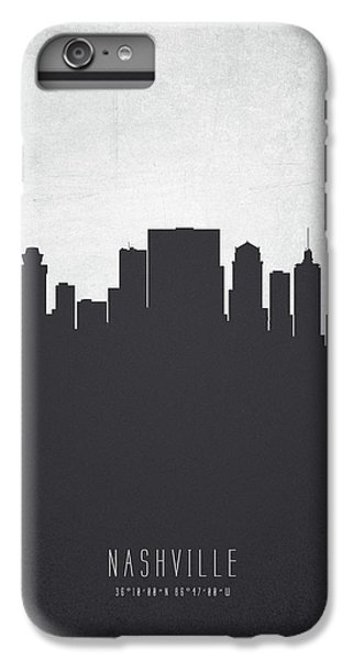 Nashville Tennessee Cityscape 19 IPhone 6 Plus Case by Aged Pixel