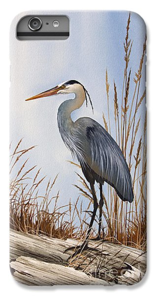 Heron iPhone 6 Plus Case - Nature's Gentle Beauty by James Williamson