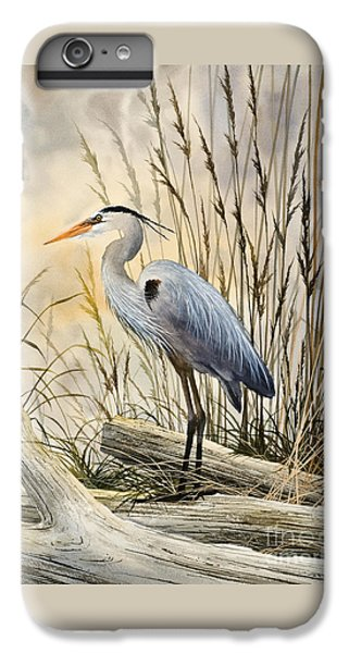 Heron iPhone 6 Plus Case - Nature's Wonder by James Williamson