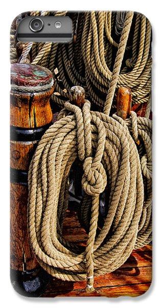 Nautical Knots 17 Oil IPhone 6 Plus Case