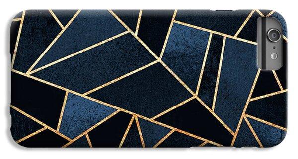 Blue iPhone 6 Plus Case - Navy Stone by Elisabeth Fredriksson