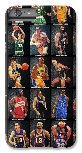 Nba Legends IPhone 6 Plus Case