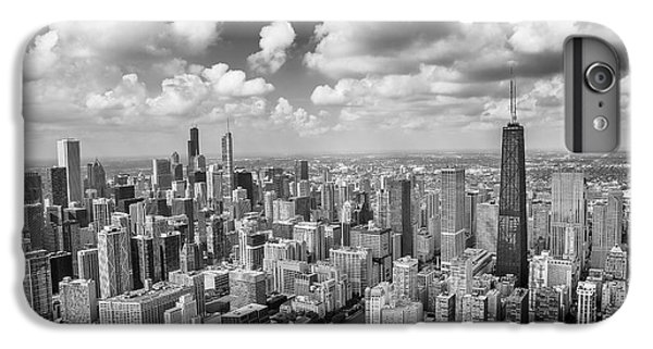 Near North Side And Gold Coast Black And White IPhone 6 Plus Case by Adam Romanowicz