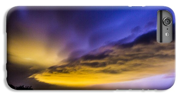 Nebraskasc iPhone 6 Plus Case - Nebraska Night Beast 021 by NebraskaSC