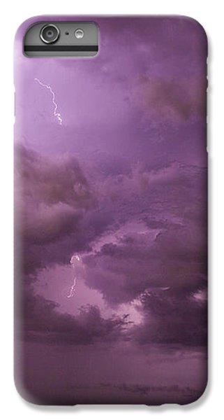 Nebraskasc iPhone 6 Plus Case - Nebraska Night Thunderstorm Beast 001 by NebraskaSC