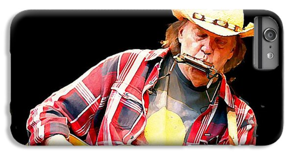 Neil Young IPhone 6 Plus Case by John Malone