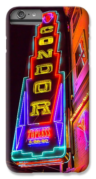 Neon Condor San Francisco IPhone 6 Plus Case