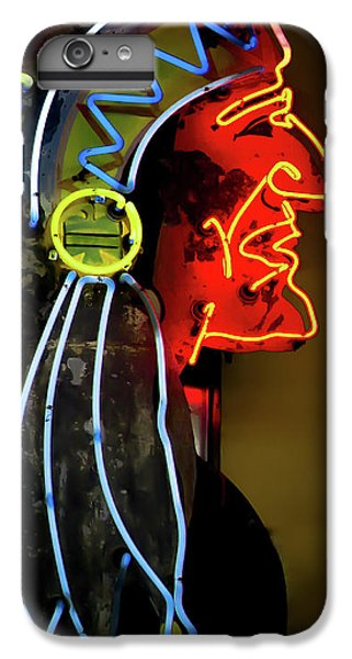 Neon Navajo IPhone 6 Plus Case by David Patterson