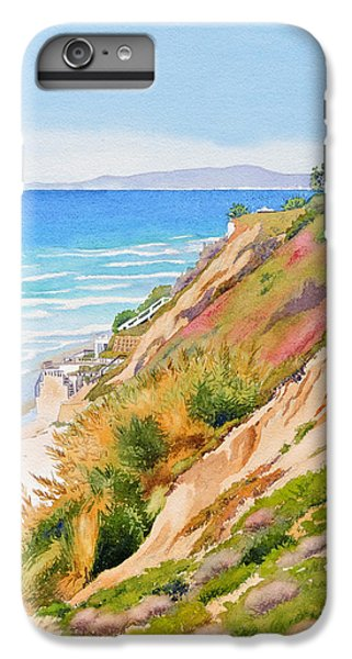 Pacific Ocean iPhone 6 Plus Case - Neptune's View Leucadia California by Mary Helmreich