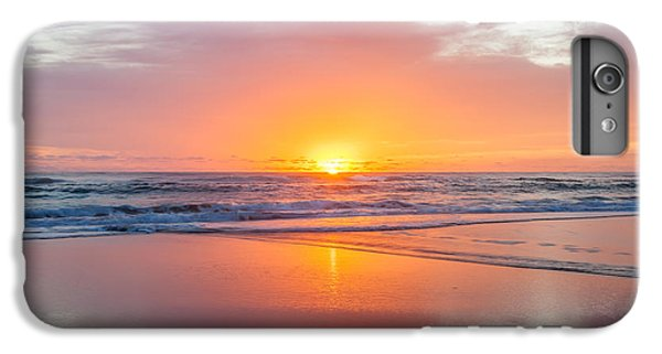 Pacific Ocean iPhone 6 Plus Case - New Beginnings by Az Jackson