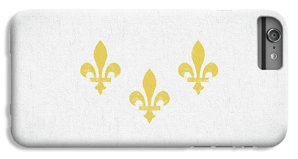 IPhone 6 Plus Case featuring the digital art New Orleans City Flag by JC Findley