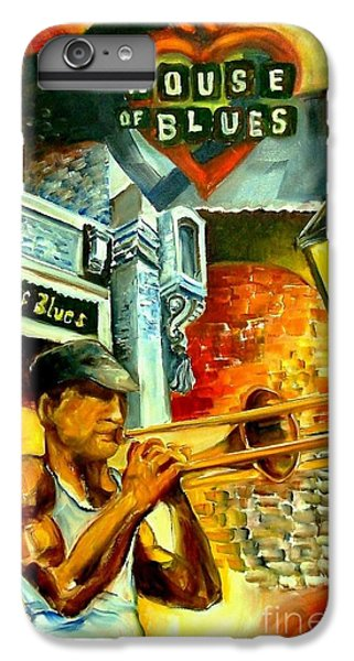 Trombone iPhone 6 Plus Case - New Orleans' House Of Blues by Diane Millsap
