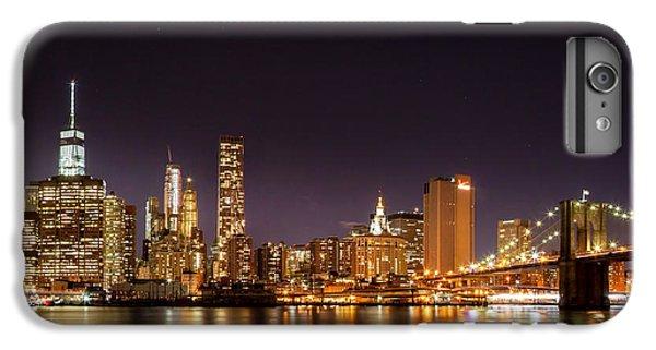 New York City Lights At Night IPhone 6 Plus Case by Az Jackson