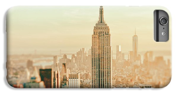 New York City - Skyline Dream IPhone 6 Plus Case by Vivienne Gucwa