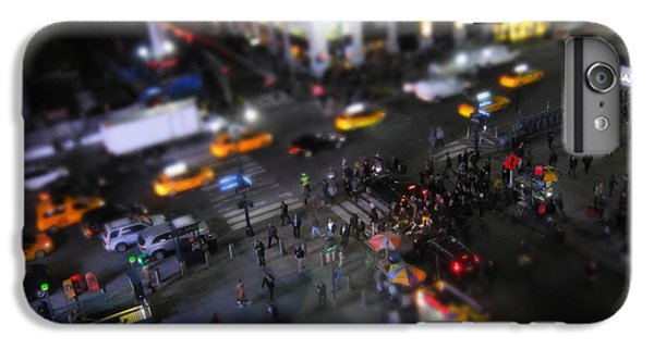 Times Square iPhone 6 Plus Case - New York City Street Miniature by Nicklas Gustafsson