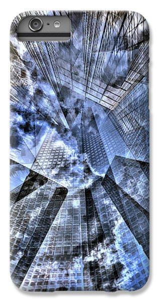 New York Iris Collage IPhone 6 Plus Case by Dave Beckerman