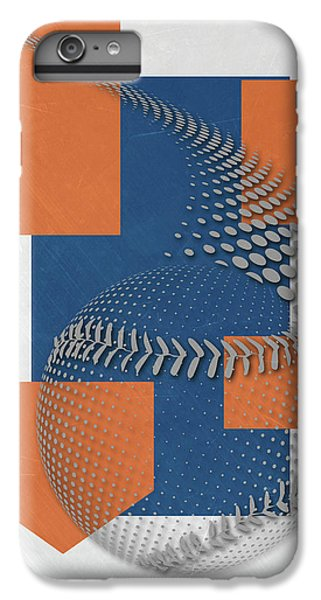 New York Mets iPhone 6 Plus Case - New York Mets Art by Joe Hamilton