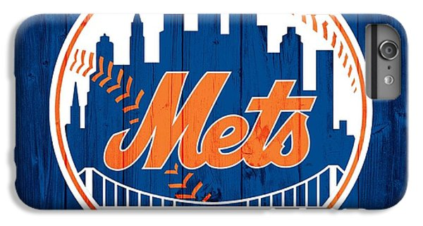 New York Mets iPhone 6 Plus Case - New York Mets Barn Door by Dan Sproul