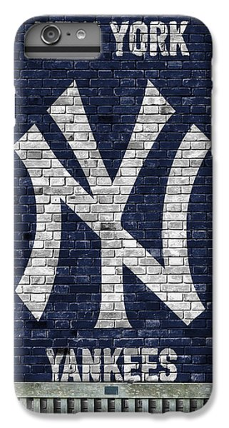New York Yankees Brick Wall IPhone 6 Plus Case