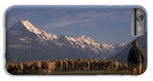 New Zealand Mt Cook IPhone 6 Plus Case by Travel Pics