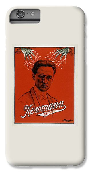 Newmann The Great - Vintage Magic IPhone 6 Plus Case by War Is Hell Store