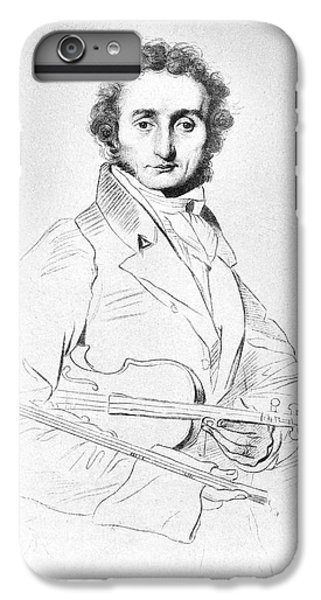 Nicolo Paganini (1782-1840) IPhone 6 Plus Case