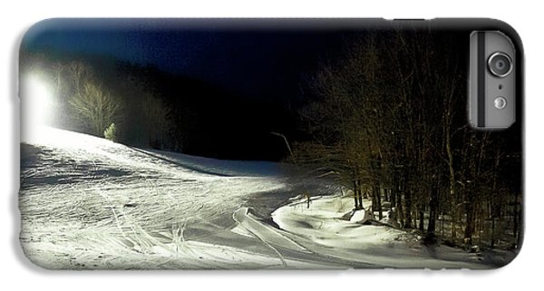IPhone 6 Plus Case featuring the photograph Night Skiing At Mccauley Mountain by David Patterson