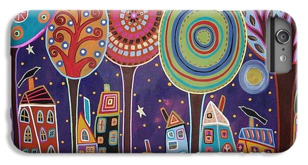 Blackbird iPhone 6 Plus Case - Night Village by Karla Gerard