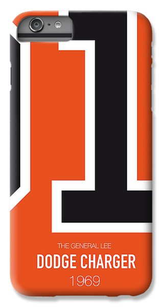 Knight iPhone 6 Plus Case - No001 My The Dukes Of Hazard Minimal Movie Car Poster by Chungkong Art