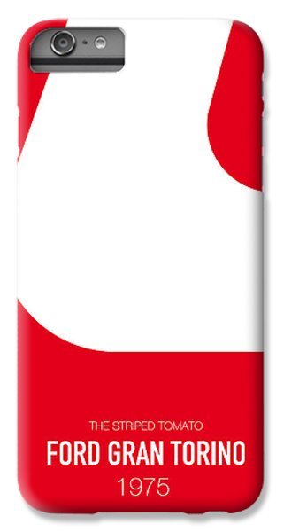 Knight iPhone 6 Plus Case - No003 My Starsky And Hutch Minimal Movie Car Poster by Chungkong Art
