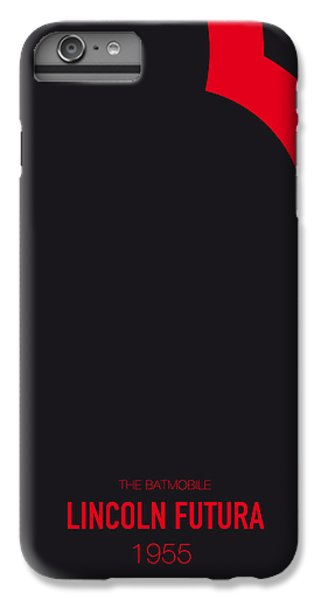 Knight iPhone 6 Plus Case - No006 My Batmobile Minimal Movie Car Poster by Chungkong Art