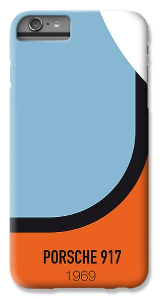 Knight iPhone 6 Plus Case - No016 My Le Mans Minimal Movie Car Poster by Chungkong Art