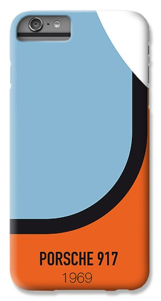 No016 My Le Mans Minimal Movie Car Poster IPhone 6 Plus Case by Chungkong Art