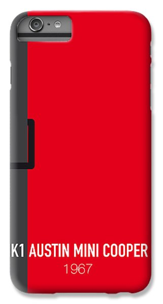 Austin iPhone 6 Plus Case - No018 My The Italian Job Minimal Movie Car Poster by Chungkong Art