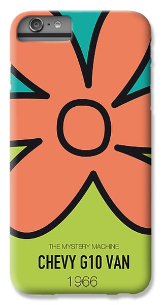Knight iPhone 6 Plus Case - No020 My Scooby Doo Minimal Movie Car Poster by Chungkong Art