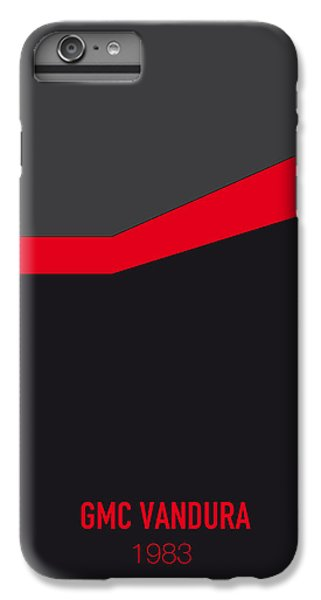 Knight iPhone 6 Plus Case - No023 My Ateam Minimal Movie Car Poster by Chungkong Art