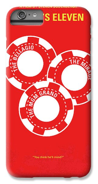 Hollywood iPhone 6 Plus Case - No056 My Oceans 11 Minimal Movie Poster by Chungkong Art