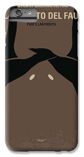 Fairy iPhone 6 Plus Case - No061 My Pans Labyrinth Minimal Movie Poster by Chungkong Art
