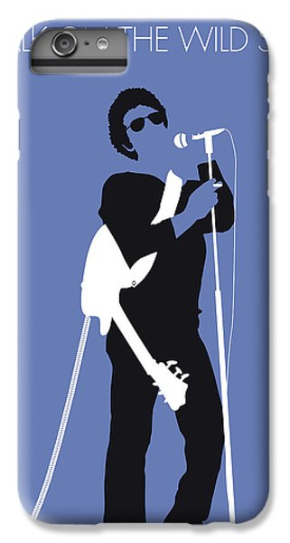 London Tube iPhone 6 Plus Case - No068 My Lou Reed Minimal Music Poster by Chungkong Art