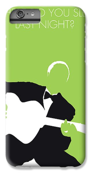 Folk Art iPhone 6 Plus Case - No096 My Lead Belly Minimal Music Poster by Chungkong Art