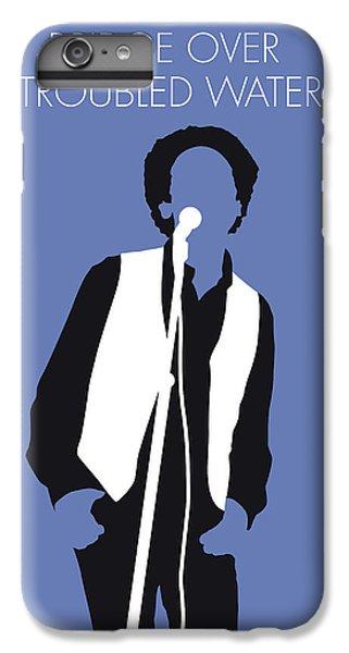 Folk Art iPhone 6 Plus Case - No098 My Art Garfunkel Minimal Music Poster by Chungkong Art