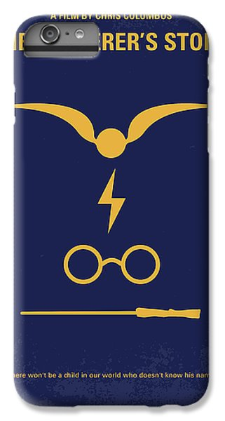 No101 My Harry Potter Minimal Movie Poster IPhone 6 Plus Case by Chungkong Art