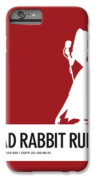 Woodpecker iPhone 6 Plus Case - No14 My Minimal Color Code Poster Jessica Rabbit by Chungkong Art