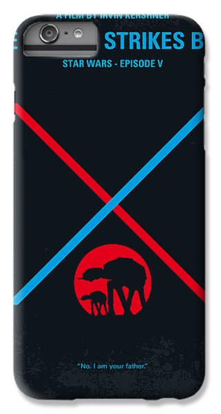 Knight iPhone 6 Plus Case - No155 My Star Wars Episode V The Empire Strikes Back Minimal Movie Poster by Chungkong Art